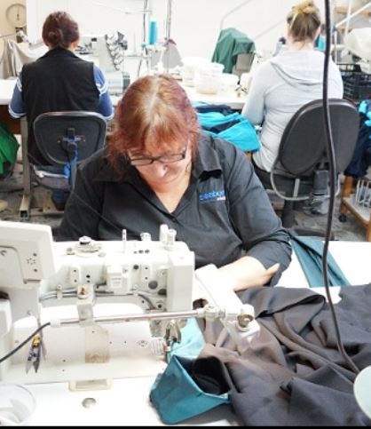 Making Uniforms at Seaborne Clothing Sunshine Coast Australia